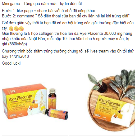 mini game công ty TNHH DGS Việt Nam mừng 2018