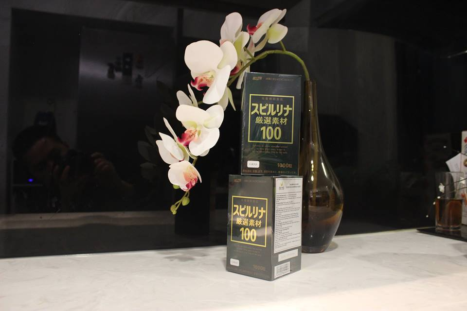 tảo xoắn Spirulina Gensen Sozai